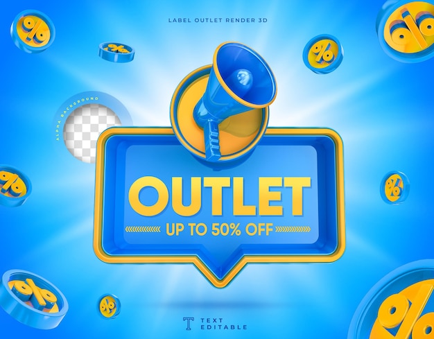 Outlet 3d megaphone box up to 50 off