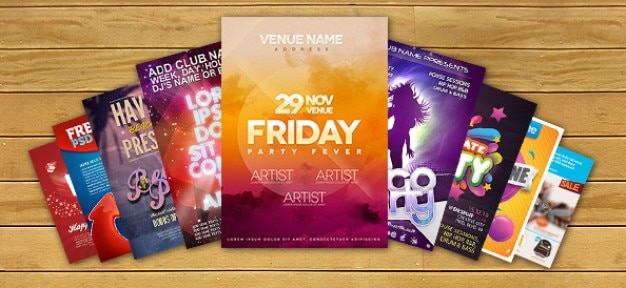 Pack Of Flyer Templates Psd Psd File Free Download
