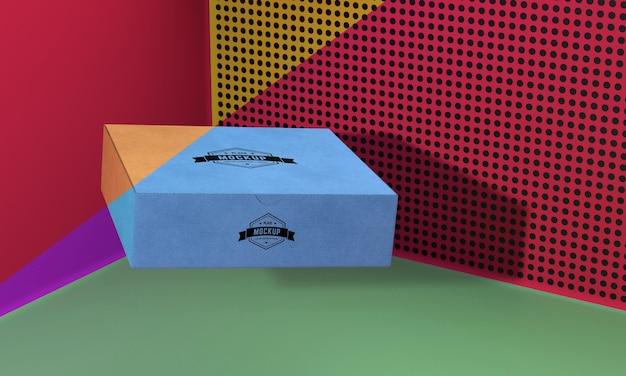 포장 상자 개념 모형 무료 PSD 파일