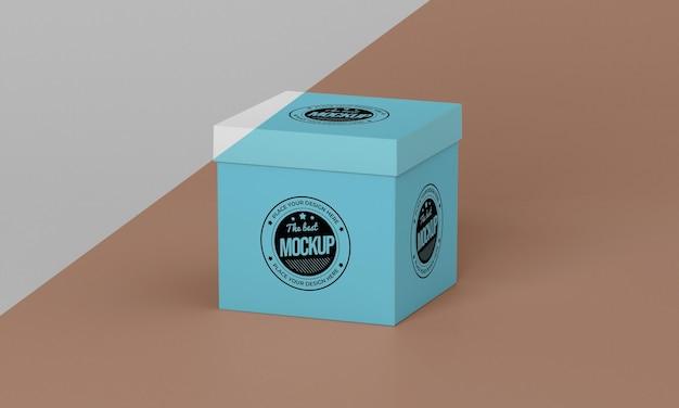 포장 상자 모형 무료 PSD 파일