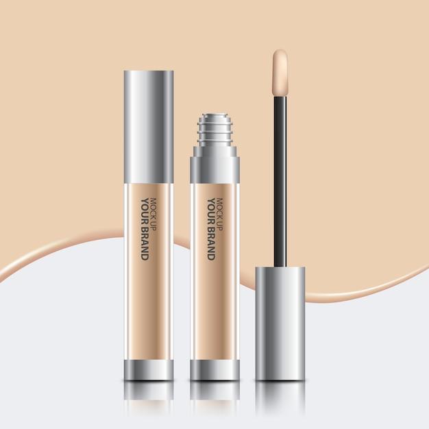 Packaging cosmetic concealer mock up Free Psd