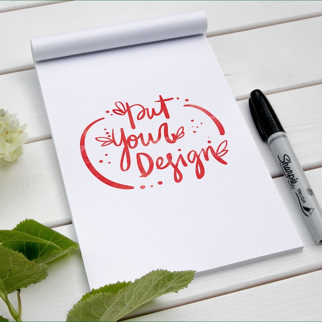 Pad template design Free Psd