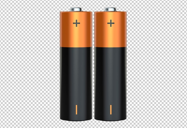 Пара щелочных батареек aa Premium Psd
