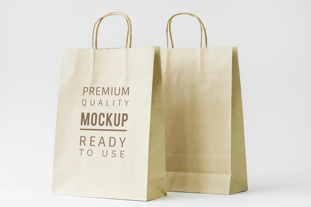 Paper bag mockup Premium Psd