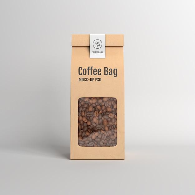 Paper bag packaging mockup Premium Psd