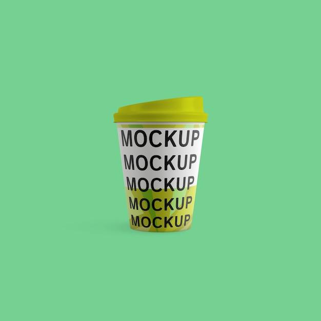 Paper coffee cup mockup Premium Psd