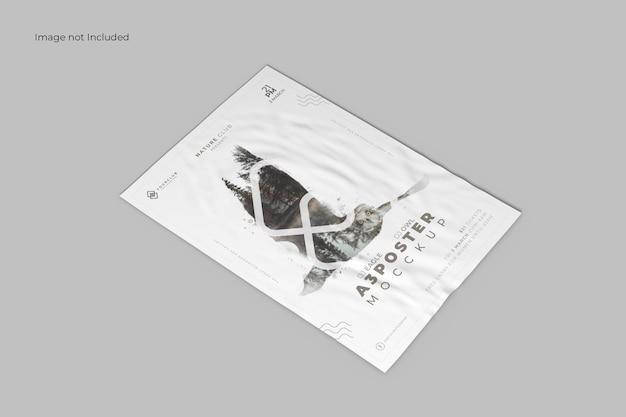 관점 포스터 목업 무료 PSD 파일