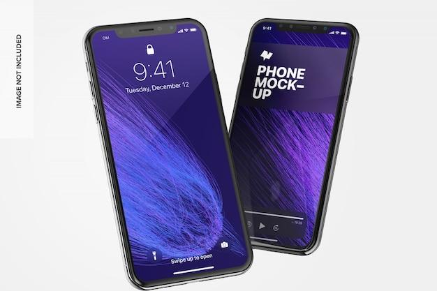Макет телефона Premium Psd
