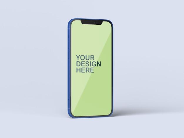 전화 모형 프리미엄 PSD 파일