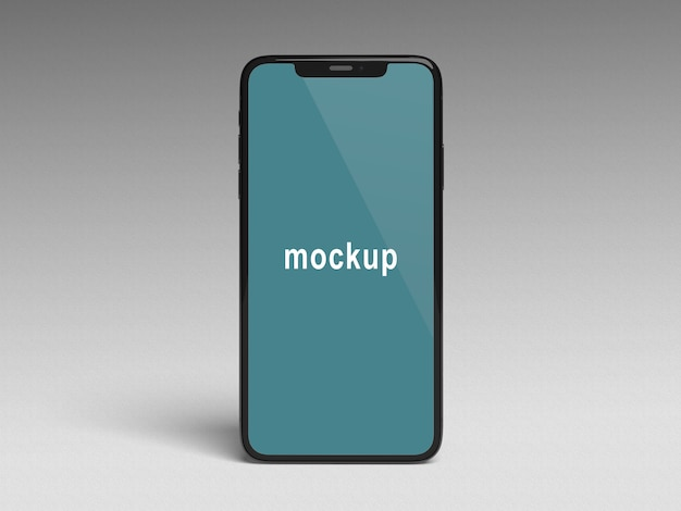 電話xモックアップ Premium Psd