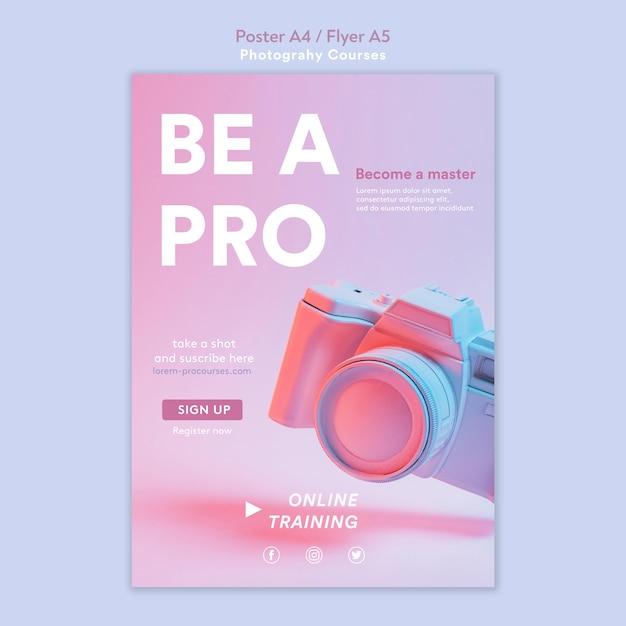 写真コンセプトチラシテンプレート 無料 Psd