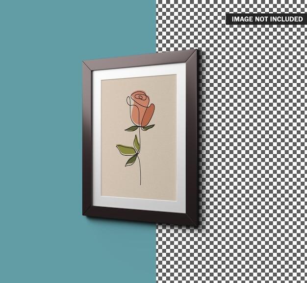Picture frame mockup design Premium Psd