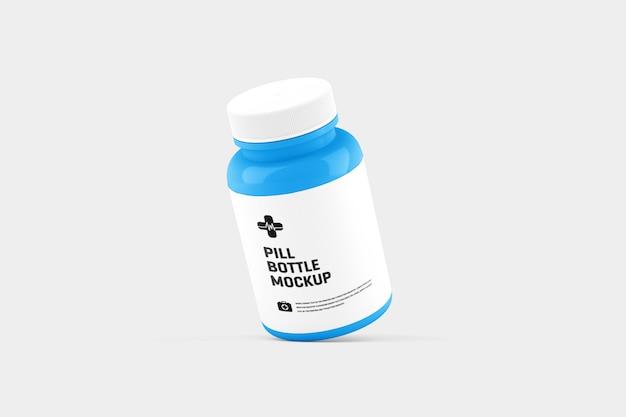 Pill bottle mockup Premium Psd