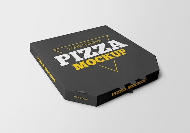 Макет коробки для пиццы Premium Psd