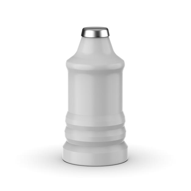 Изолированный дизайн макета пластиковой бутылки Premium Psd