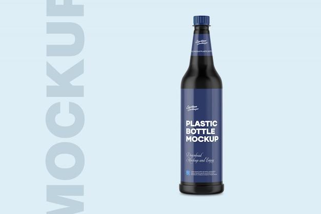 Plastic bottle mockup Premium Psd