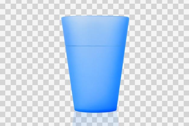 水が付いているプラスチックコップ Premium Psd