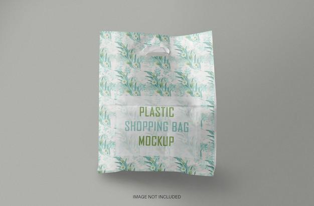 レジ袋のモックアップ Premium Psd