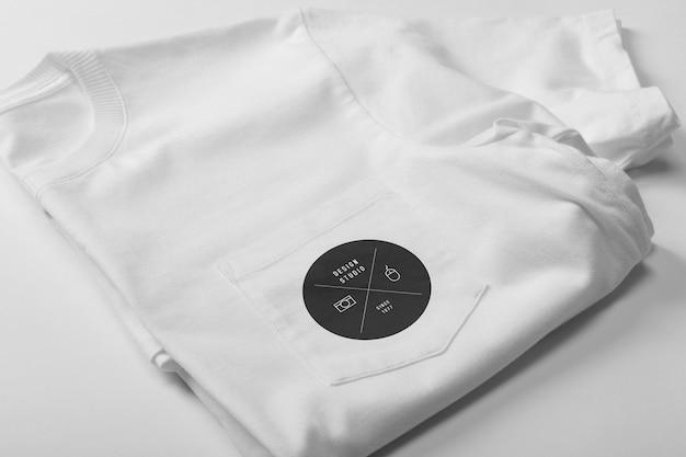 ポケットtシャツモックアップ Premium Psd