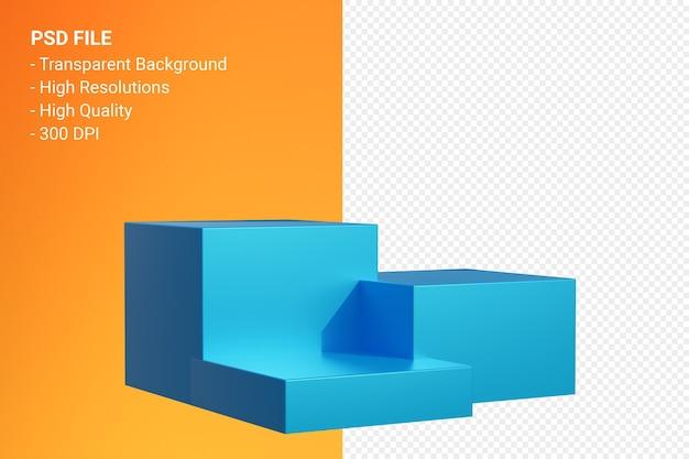 화장품 프레젠테이션을 위해 최소한의 절연 연단 프리미엄 PSD 파일