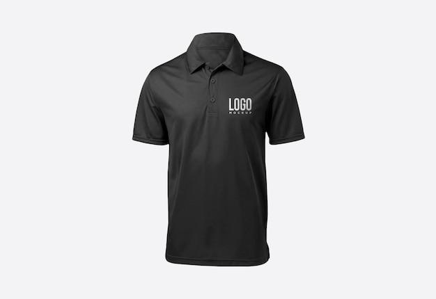 Дизайн макета логотипа футболки поло Premium Psd