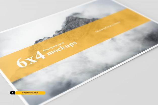 Postcard mockup Premium Psd