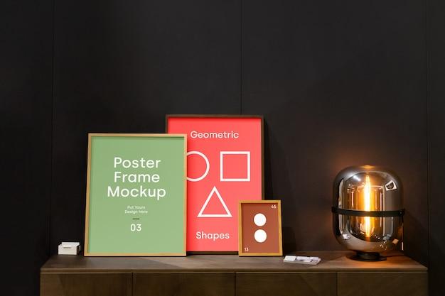 Poster frame mockup Premium Psd