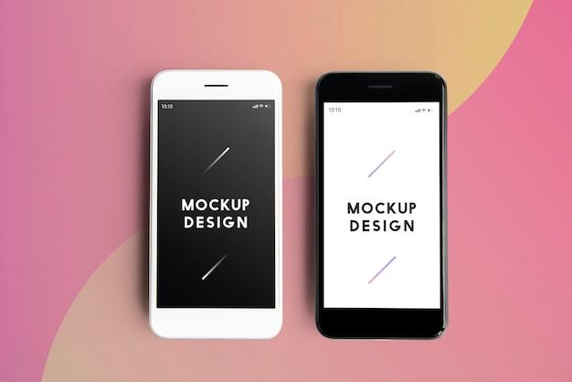 Download Premium mobile phone screen mockup template   Free PSD File