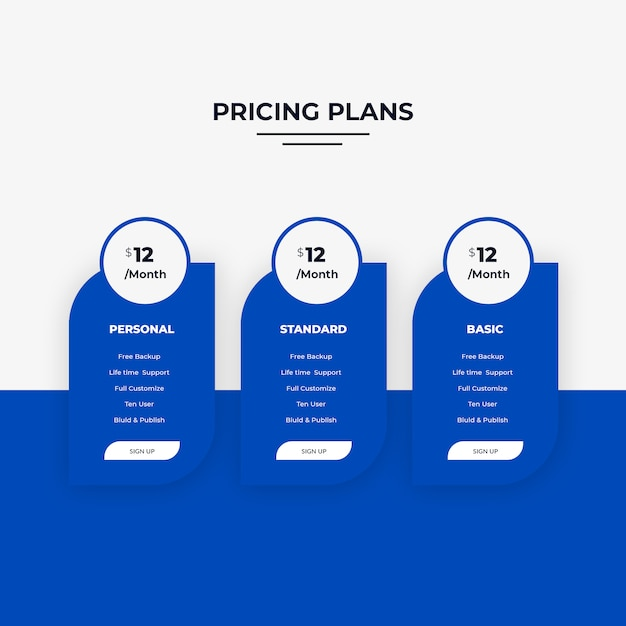 価格表 Premium Psd