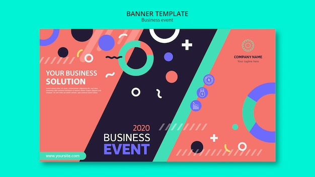 Professional template for business event Free Psd