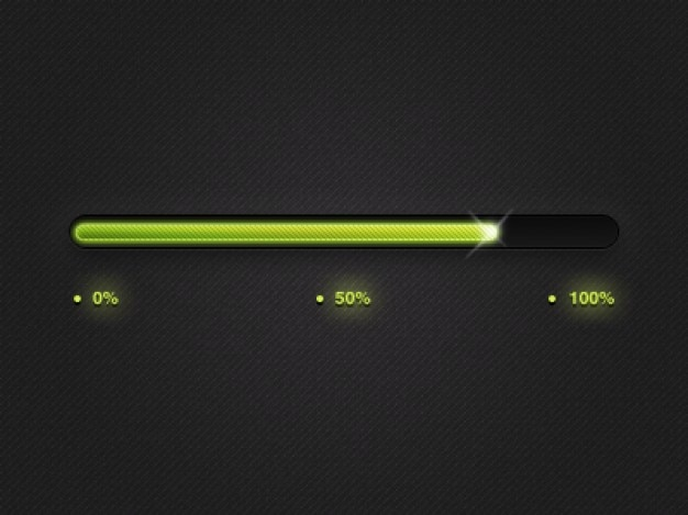 Progress bar Free Psd