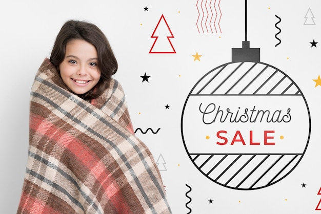 Promotional offers on christmas season Free Psd
