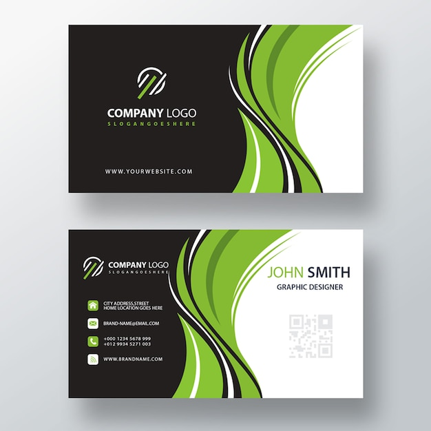 Psd business card template | Free PSD File