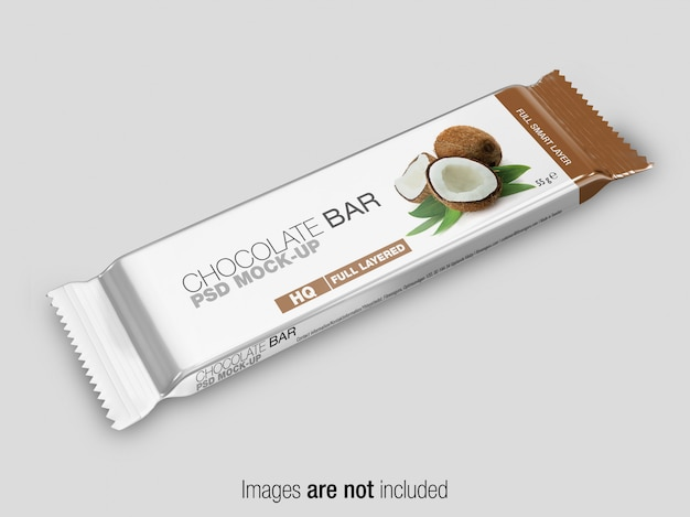 Psd snack bar mockup Premium Psd