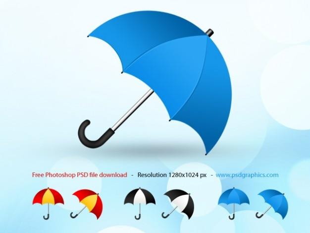 Psd зонтик иконка Бесплатные Psd