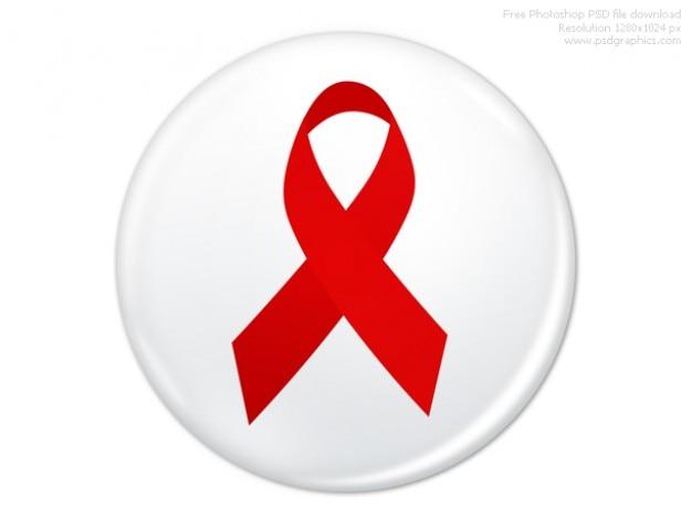 Psd всемирный день борьбы со спидом значок Бесплатные Psd