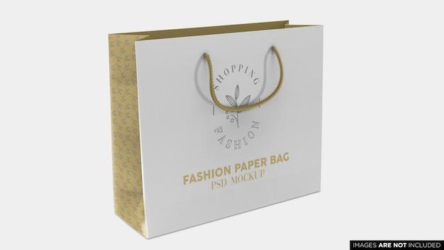 Шоппинг бумажный пакет psd макет Premium Psd