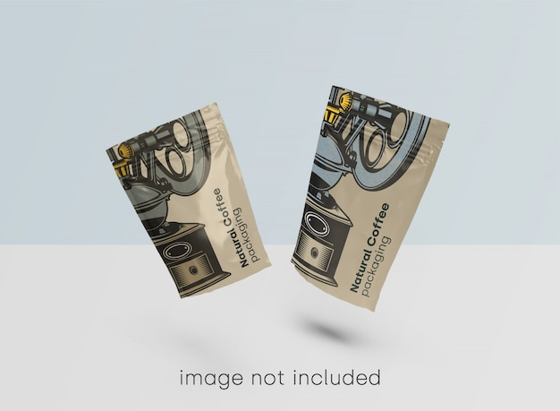 Упаковка макета для кофейни psd Бесплатные Psd
