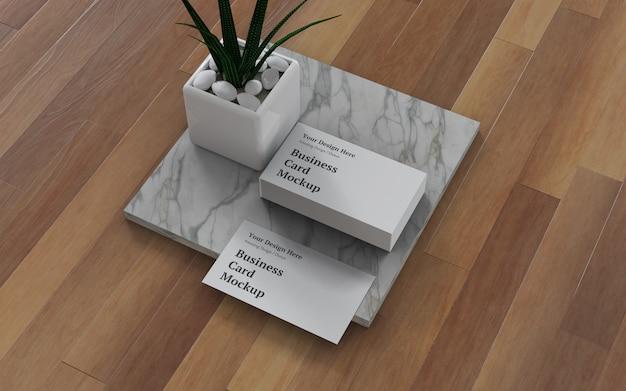 Визитная карточка макет psd Premium Psd