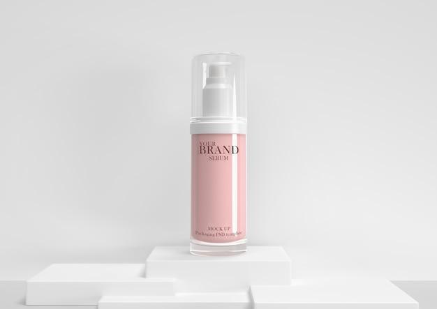 スキンケア保湿化粧品プレミアム製品プレミアムpsd。 Premium Psd