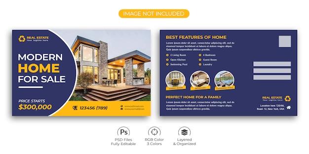 Real Estate Postcard Template from image.freepik.com