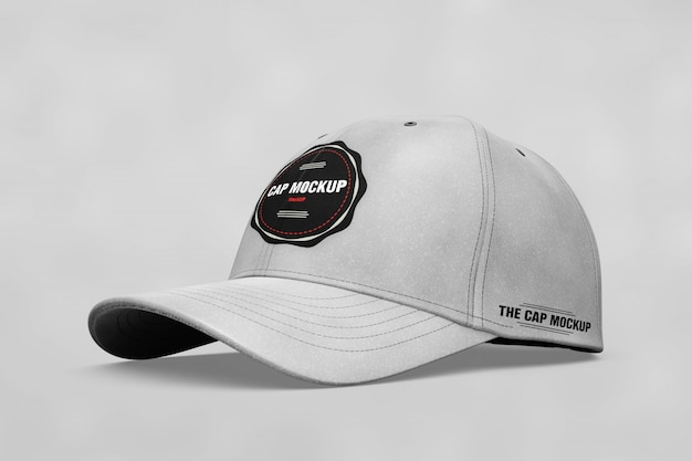 081483d9b Realistic cap mock up PSD file | Free Download