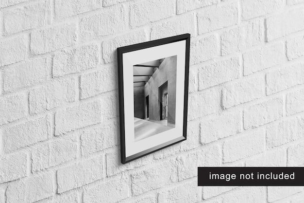 Realistic frame mockup Premium Psd