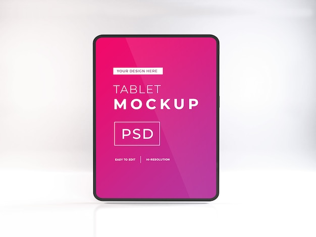 Realistic tablet device Premium Psd