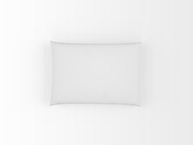 Реалистичная белая подушка, изолированная на белом Бесплатные Psd