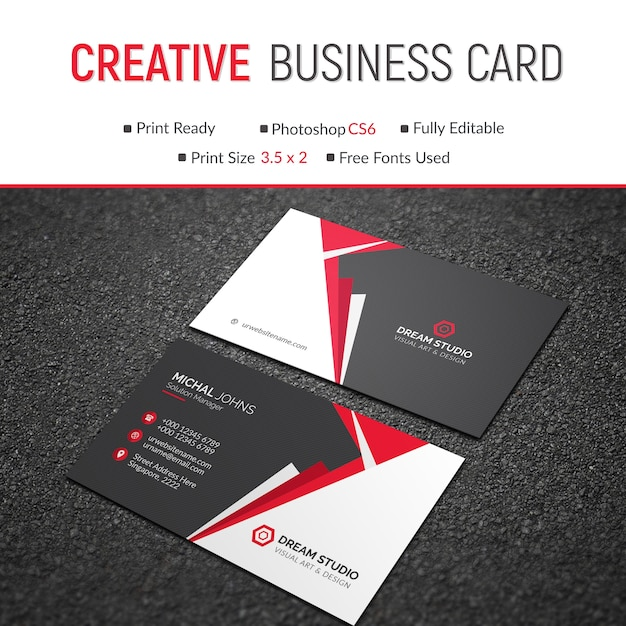 Red and black business card mockup psd file premium download red and black business card mockup premium psd reheart Images