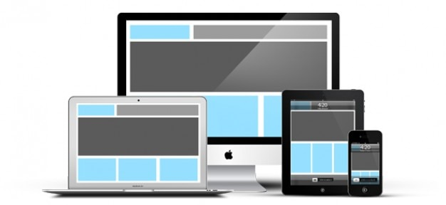 Responsive Devices Psd Mockup Free Psd File