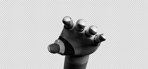 Robot cyborg hand Premium Psd