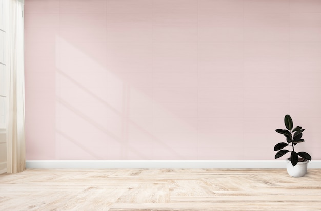 Резиновая фига в розовой комнате Premium Psd
