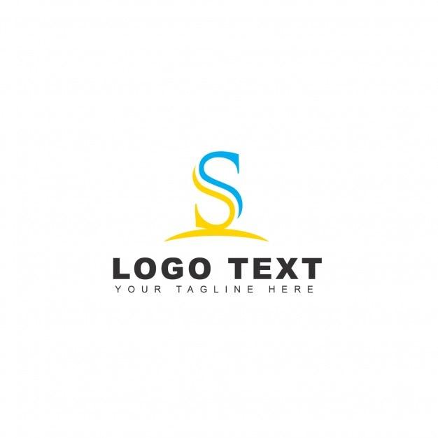 S letter logo Free Psd